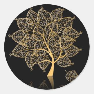 Genealogie Ronde Stickers