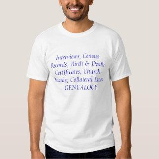 Genealogie Tshirt
