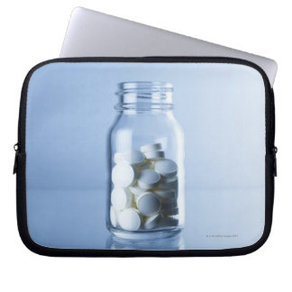 geneeskunde in de fles laptop sleeve