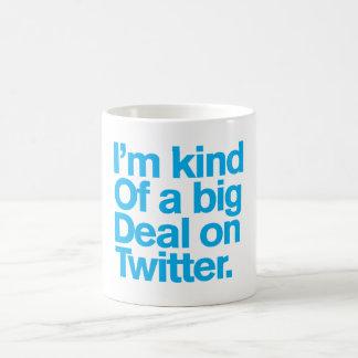 Generische Comedy™/Grote Overeenkomst op Twitter. Basic Witte Mok