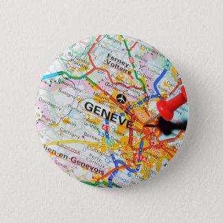 Geneve, Genève, Zwitserland Ronde Button 5,7 Cm
