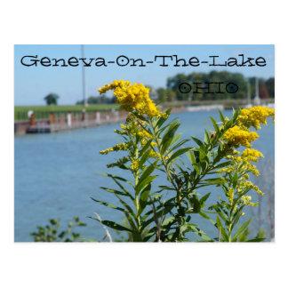 Genève-op-de-meer, het Briefkaart van Ohio,
