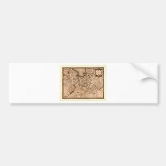 Genève Zwitserland 1773 Bumpersticker