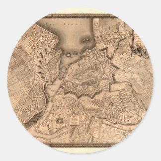 Genève Zwitserland 1773 Ronde Sticker