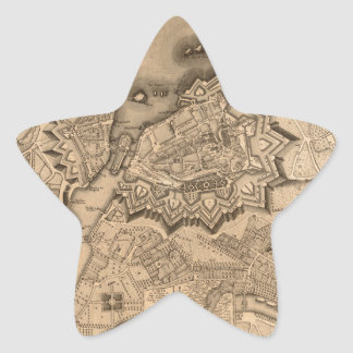 Genève Zwitserland 1773 Ster Sticker