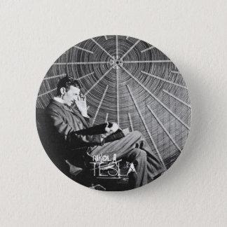 Genie op het werk ronde button 5,7 cm