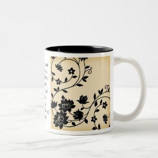Geniet van Deze Ambrozijn Tweekleurige Koffiemok