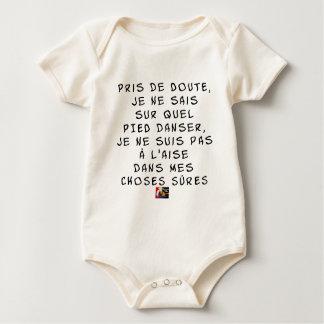 Genomen van TWIJFEL weet ik niet op welke VOET Baby Shirt