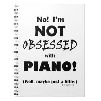 Geobsedeerde Piano Notitieboeken