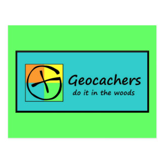 Geocachers Briefkaart