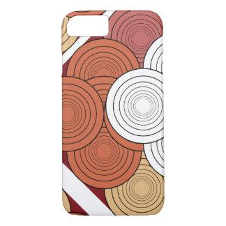 geometrisch gekleurd voor mobiel iPhone 8/7 hoesje