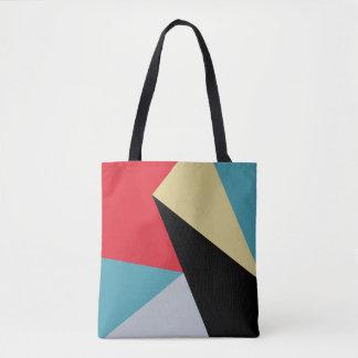 Geometrisch Kleurrijk Modern Abstract Canvas tas