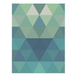 Geometrische Driehoeken Briefkaart