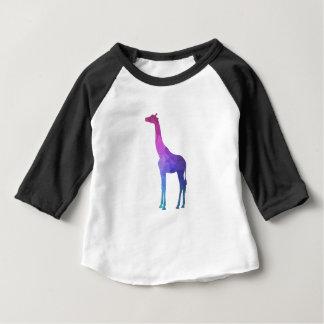 Geometrische Giraf met het Trillende Idee van de Baby T Shirts