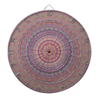Geometrische mandala van de hippie dartbord