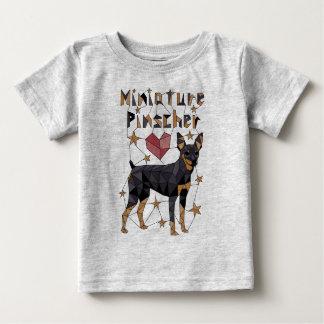 Geometrische MiniatuurPinscher Baby T Shirts