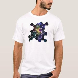 geometrische ruimte t shirt
