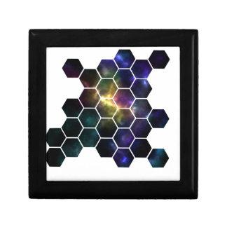 geometrische ruimte vierkant opbergdoosje small