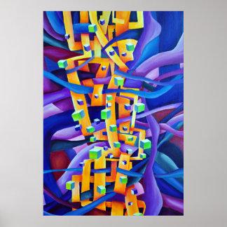 Geometrische Samenvatting - de Samenstelling van Poster