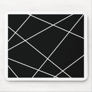 Geometrische samenvatting - wit en zwarte muismatten