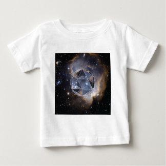 Geometrische stercluster baby t shirts