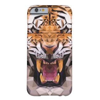 Geometrische tijger barely there iPhone 6 hoesje