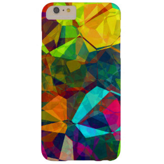 Geometrische, trendy, koele, multikleuren barely there iPhone 6 plus hoesje