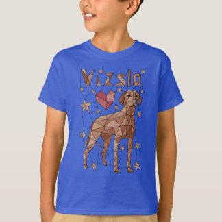 Geometrische Vizsla T Shirt