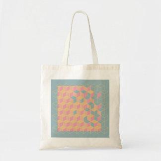 geometrische zak budget draagtas