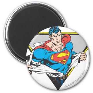 Geopenbaarde superman koelkast magneetje