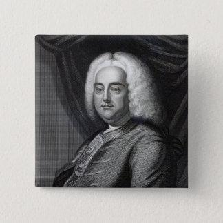 George Frederic Handel, door Thomson wordt Vierkante Button 5,1 Cm
