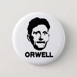 George Orwell Ronde Button 5,7 Cm