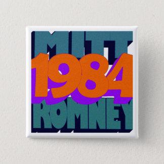 George Orwell's 1984 Vierkante Button 5,1 Cm
