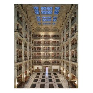 George Peabody Library Postcard Briefkaart