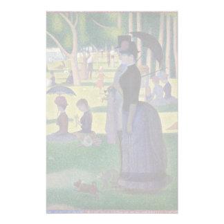 GEORGE SEURAT - een zondagmiddag 1884 Briefpapier