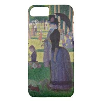 GEORGE SEURAT - een zondagmiddag 1884 iPhone 8/7 Hoesje
