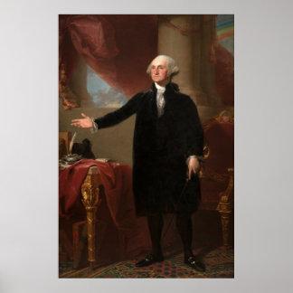 GEORGE WASHINGTON door Gilbert Stuart (Lansdowne) Poster
