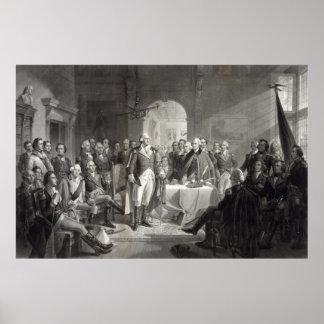 George Washington en Zijn poster van