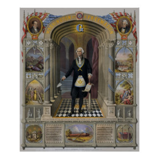 George Washington, Metselaar II Poster