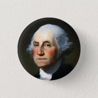 George Washington Ronde Button 3,2 Cm