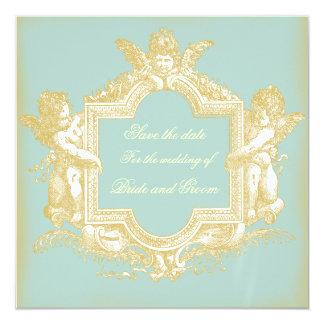 Georgiana (Marie Antoinette Blue) sparen de Datum Kaart