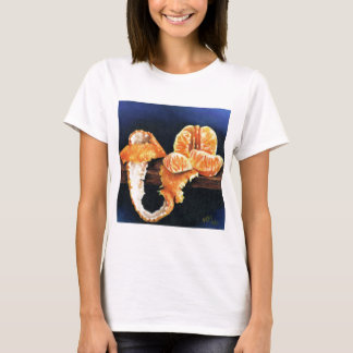 Gepeld sinaasappel, t shirt