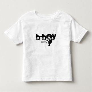 """Gepersonaliseerd B-jongen overhemd. """"voeg uw naam Kinder Shirts"""
