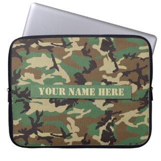 Gepersonaliseerd BosLaptop van de Camouflage Sleev Computer Sleeve