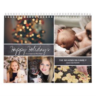 Gepersonaliseerd Gelukkig Vakantie, Nieuwjaar, Kalender