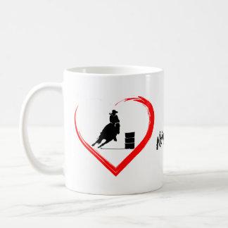 Gepersonaliseerd het Rennen van het Vat van het Koffiemok