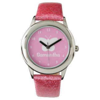 Gepersonaliseerd horloge | van het meisje