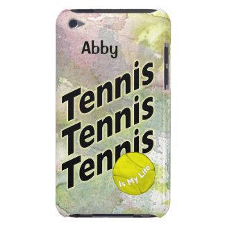 Gepersonaliseerd iPod Hoesje voor Tennis