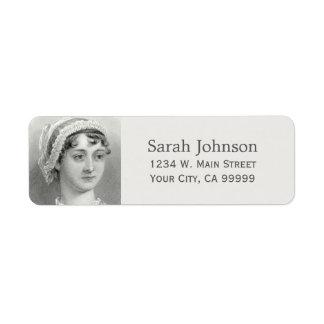 Gepersonaliseerd Jane Austen Etiket