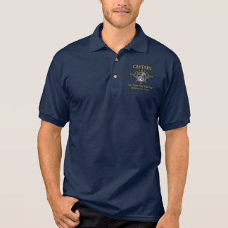 Gepersonaliseerd Kapitein First Mate Skipper Crew Polo